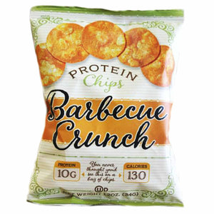 Kettle-Style BBQ Protein Chips - High Protein & Fiber, Low Carb, 1.2 oz.