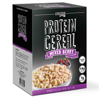 NEW Mixed Berry Protein Cereal - High Protein & Fiber, Low Carb