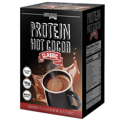 NEW Protein Hot Chocolate - High Protein & Low in Carbs, Keto-Friendly