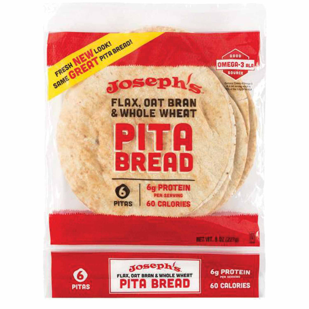 Low Carb Pita & Lavash Bread - High in Protein, High Fiber, 5-7g Net Carbs