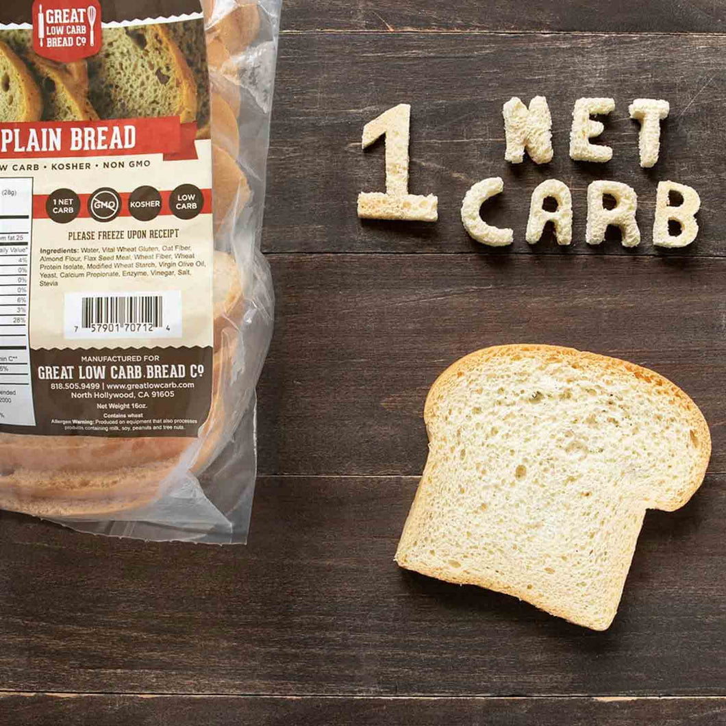 NEW Low Carb Bread & Bagels - Keto-Friendly, High in Protein
