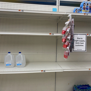 IN CURRENT CRISIS, AVOID EMPTY SHELVES AND STANDING IN LINES WITH FILTERED WATER