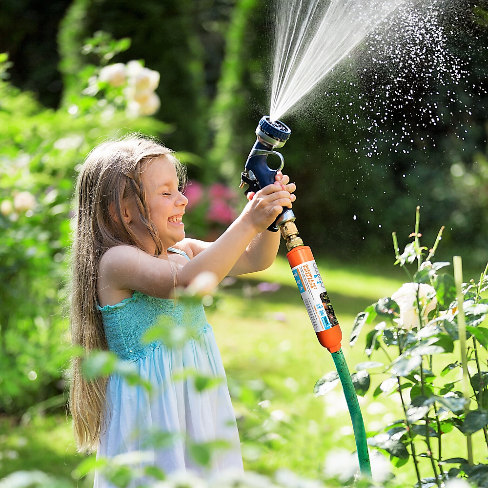 HOW DOES YOUR GARDEN GROW? WITH CLEAN, PURE WATER, THAT'S HOW