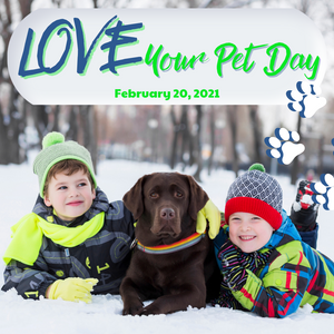 LOVE YOUR PET DAY: WATER YOU DOING TO CELEBRATE?
