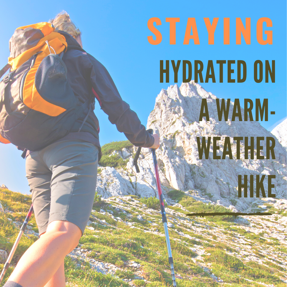 Staying Hydrated on a Warm-Weather Hike