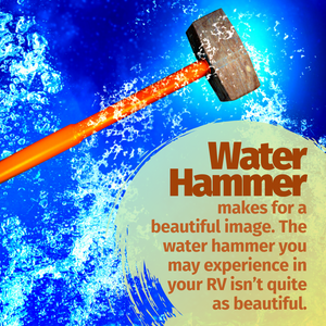 NOISY PIPES? WATCH OUT FOR A WATER HAMMER