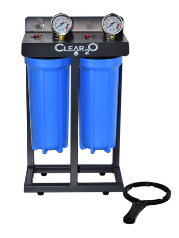 Clear2O® Dual Canister Water Filtration System - CDC200