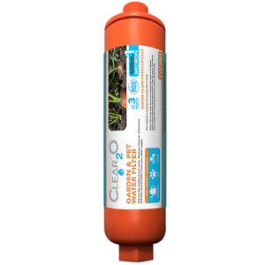 CLEAR2O® GARDEN & PET WATER HOSE FILTER - Reduces Chlorine, Lead, Heavy Metals CGF3001