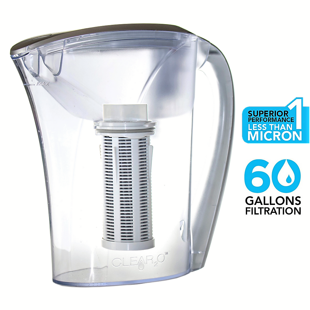 Clear2O® Gravity Advanced Filter Water Pitcher - GRP200 - 6 Glass Capacity
