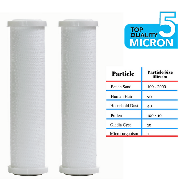 Clear2O® Universal Replacement Whole House Sediment Pre-Filter CPP1002  2-Pack