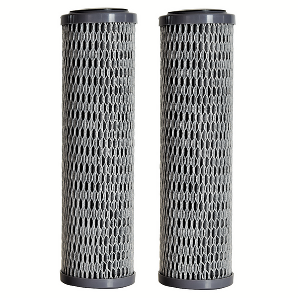 CLEAR2O® ADVANCED PREMIUM CARBON UNIVERSAL FILTER RV & WHOLE HOUSE WATER FILTER - CUF1252 - 2 Pack