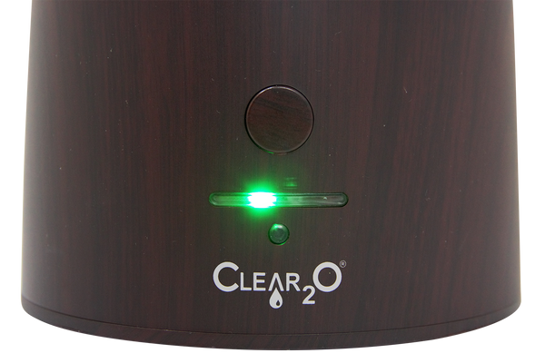 Clear2O® Ultrasonic Cool Mist Humidifier (Mahogany) -  Reboxed Special Sale