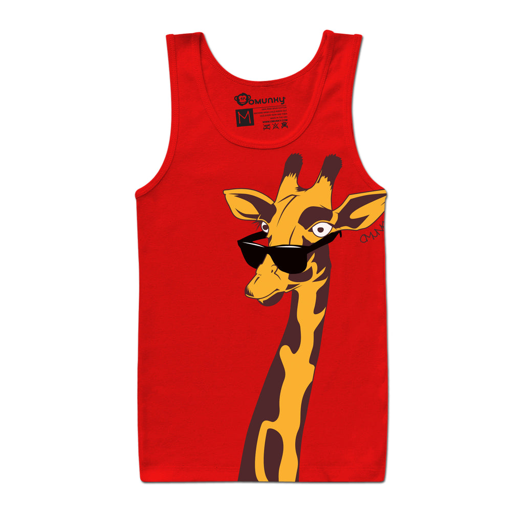 Spots & Shades Tank (Red)