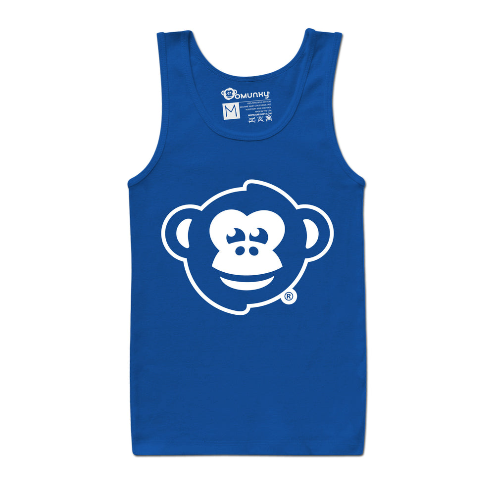 Load image into Gallery viewer, OMUNKY Logo Tank<br/>(Royal Blue)