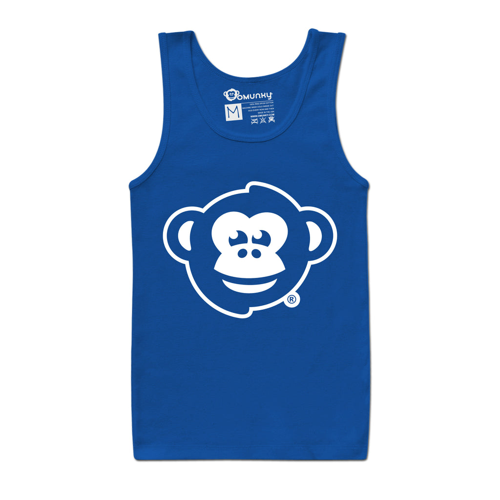 OMUNKY Logo Tank<br/>(Royal Blue)