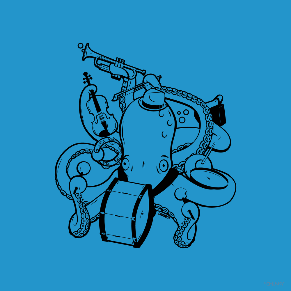 Load image into Gallery viewer, Octopus Band Tank Top
