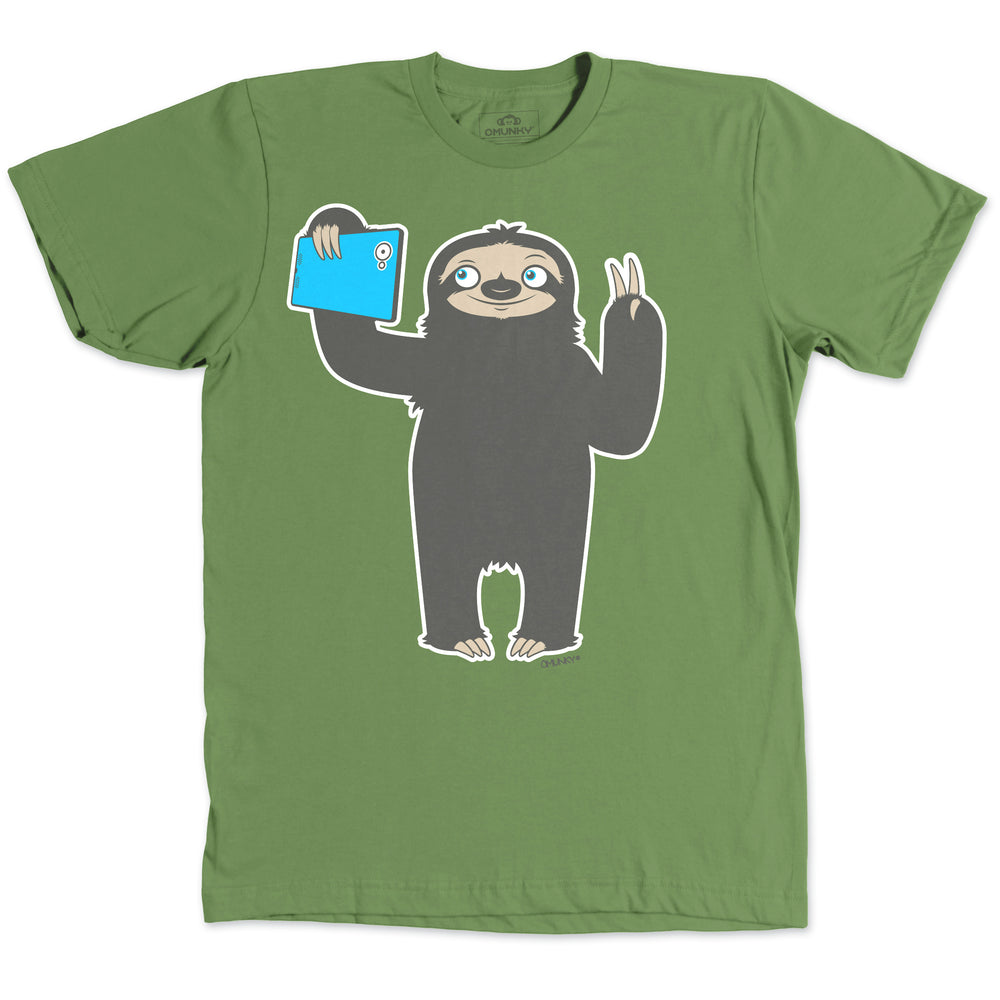 Load image into Gallery viewer, Sloth Selfie