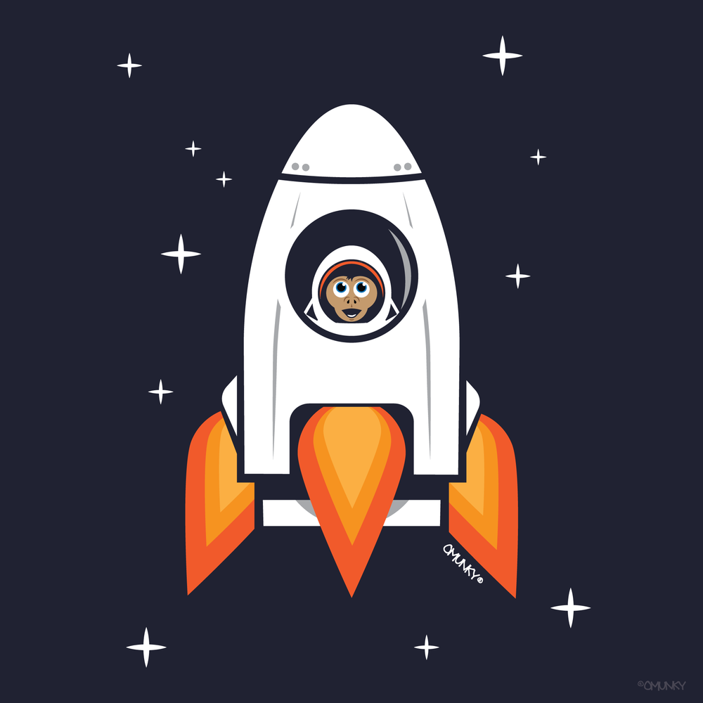 Load image into Gallery viewer, Space Chimp X