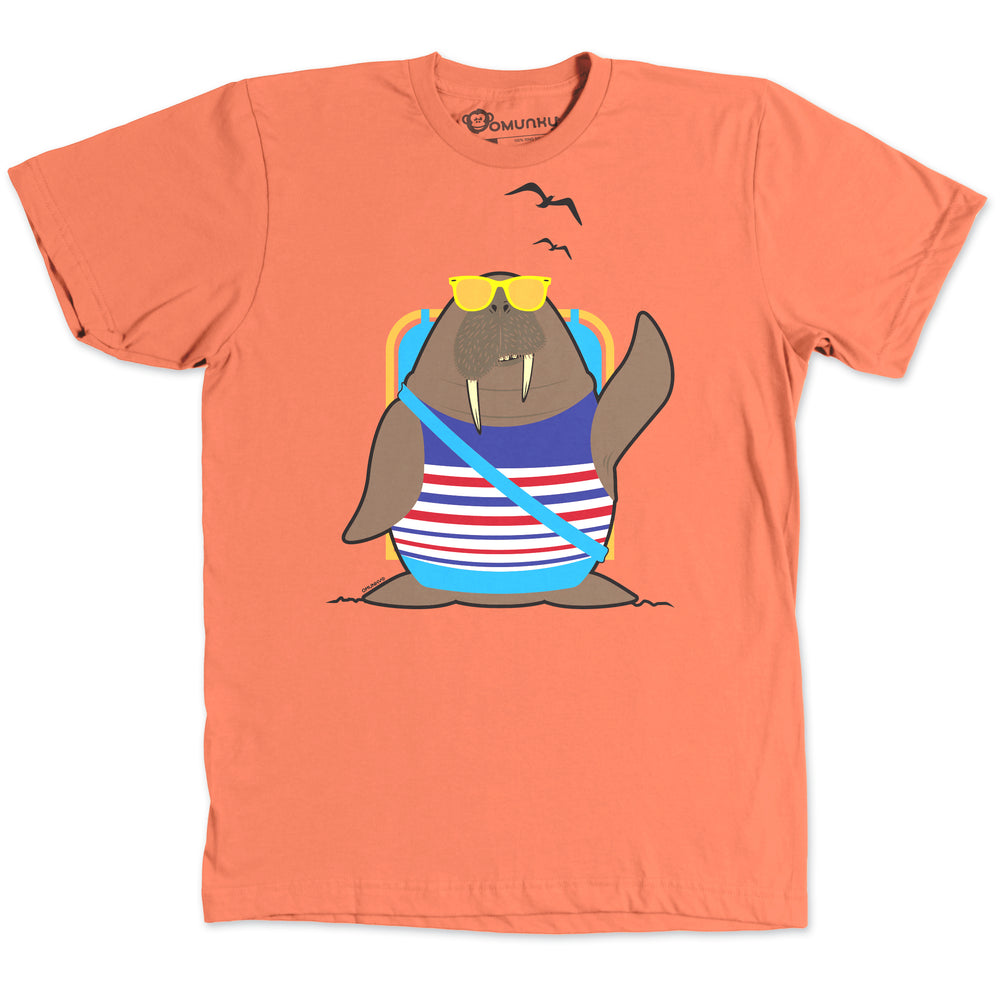 Walrus at the Beach