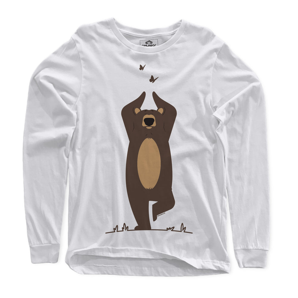 Load image into Gallery viewer, Yoga Bear Long Sleeve