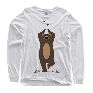 Yoga Bear Long Sleeve