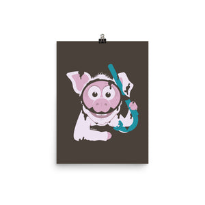Load image into Gallery viewer, Piggy Plunge Poster