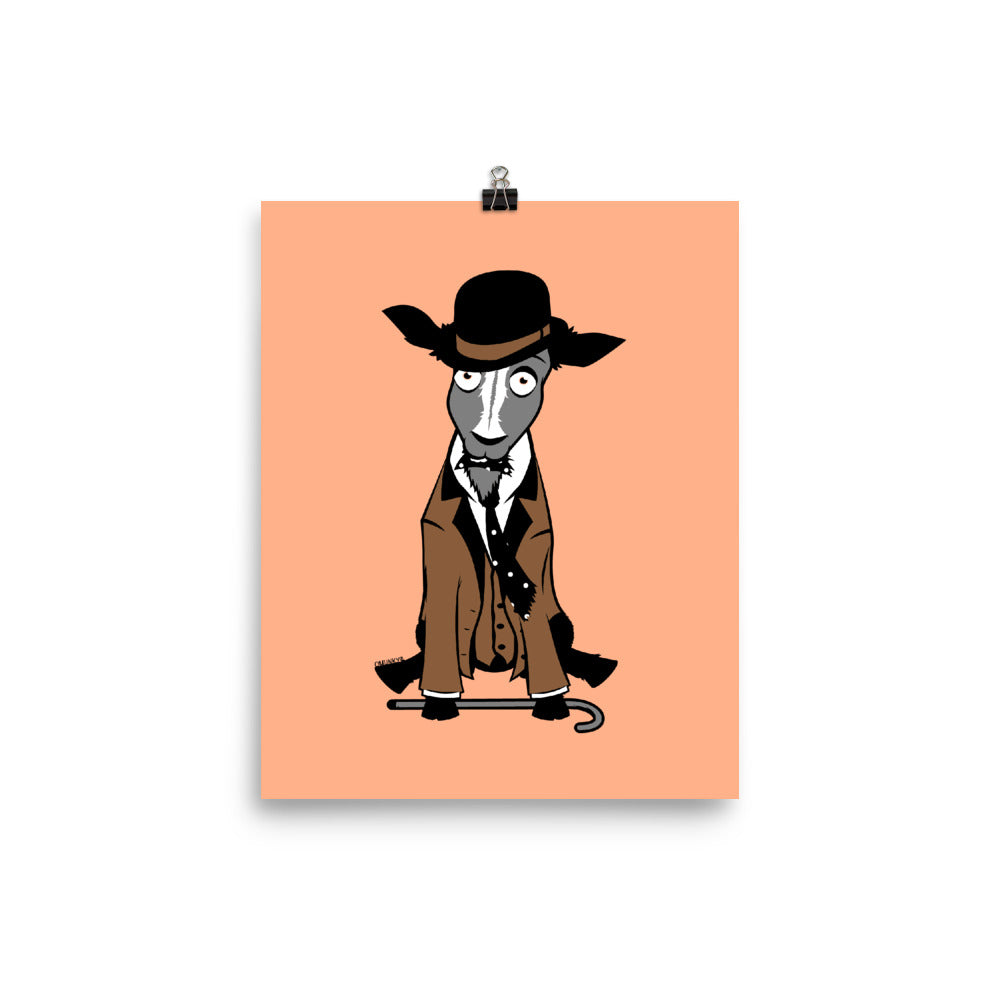 Load image into Gallery viewer, Gentleman Goat Poster