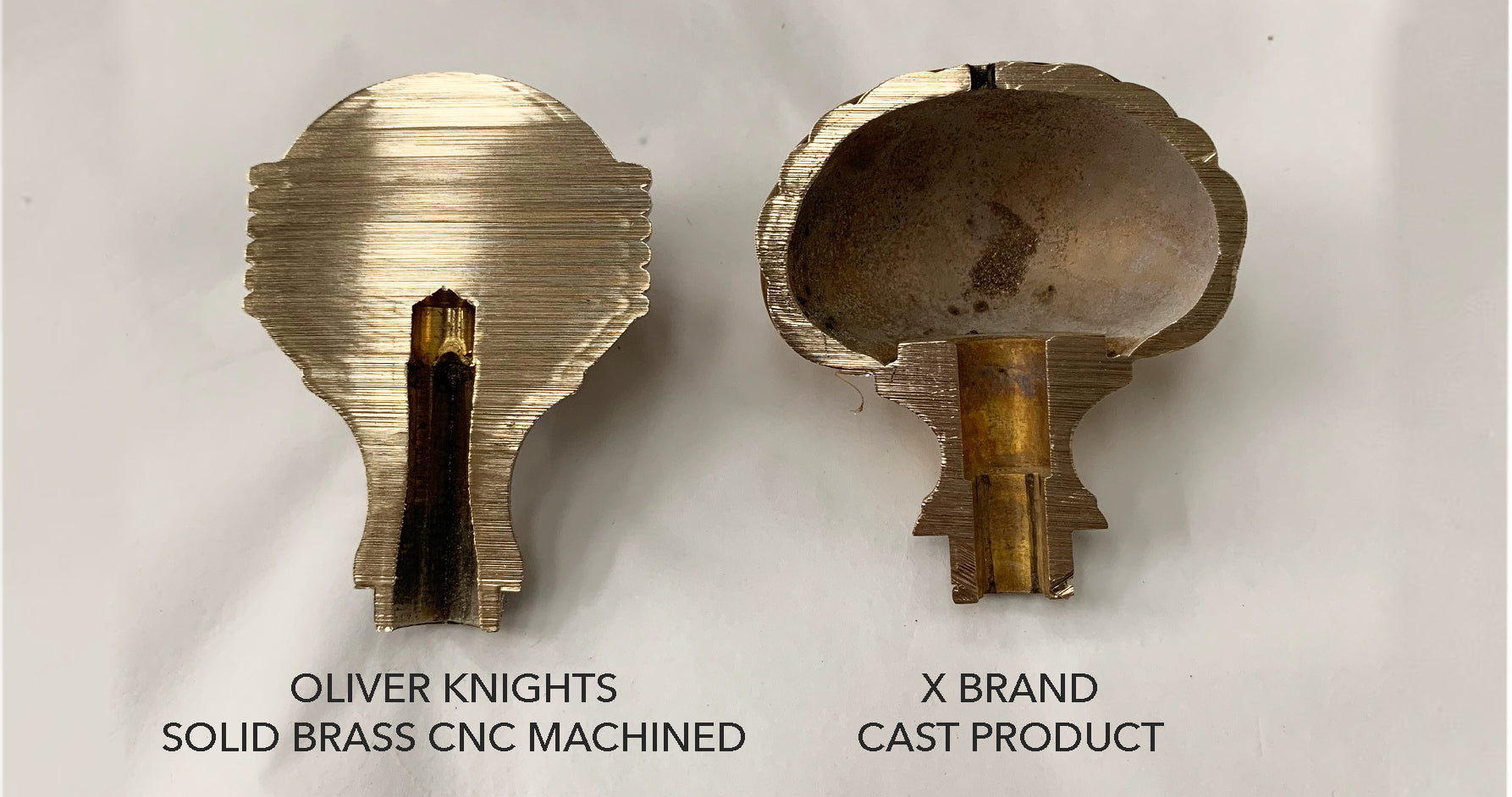 Solid Brass Vs Cast