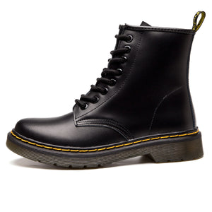 High-Top Laced Bella Boots Black (Maat groter bestellen)