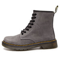 Tokio Suede Laced Bella Boot Grey