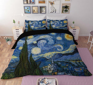 The Starry Night Bedding Duvet Cover Sets - Art Store