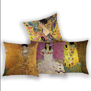 Gustav Klimt Decorative Pillowcases (More Artworks)