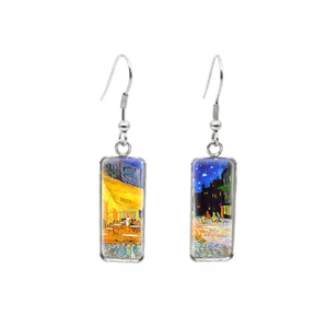 Van Gogh Artworks Glass Earrings