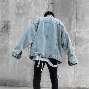 Van Gogh Embroidered Denim Jacket