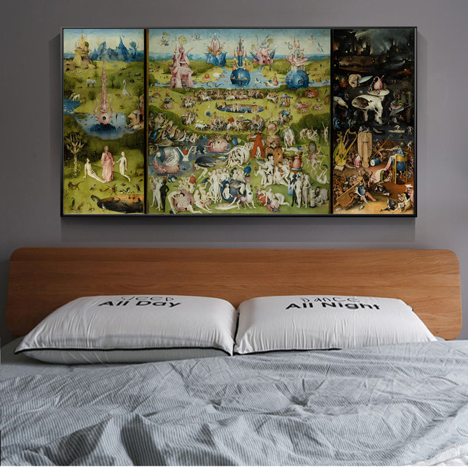 Hieronymus Bosch 'Garden of Earthly Delight' Wall Art - Art Store
