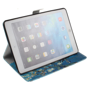 Almond Blossom Inspired Flip PU Leather Case Apple iPad