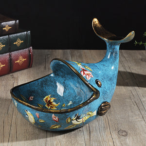 Functional Decor Whale Figurine - Art Store