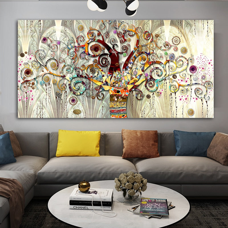 'Tree of Life' Modern Wall Art Print