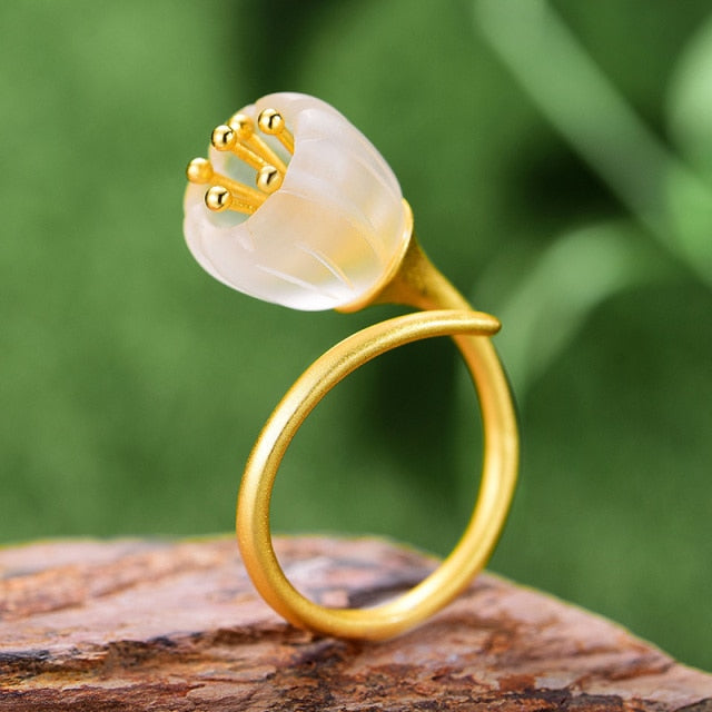 Lily of the Valley Ring