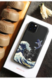 Embossed 'The Great Wave off Kanagawa' Cases