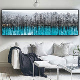 Nordic Snow Forest Wall Art Prints