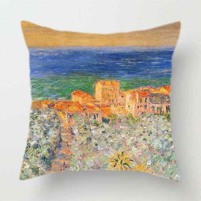 Claude Monet Art Decorative Cushion Covers