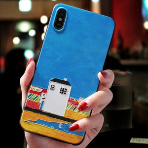 3D Embossed Colorful Artwork Cases