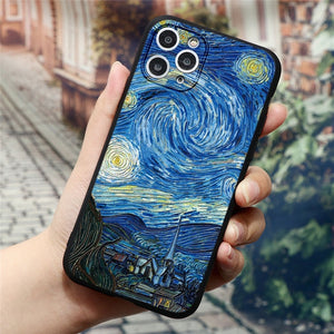 3D Embossed Artwork Cases For iPhone