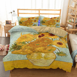 Van Gogh 'Sunflowers' Bedding Duvet Cover Sets