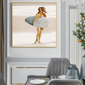 When Art Meets Real Life ft Venus Wall Art Prints