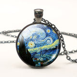 Vincent van Gogh Inspired Necklace - Art Store