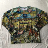 'Garden of Earthly Delight' Sweatshirt - Art Store