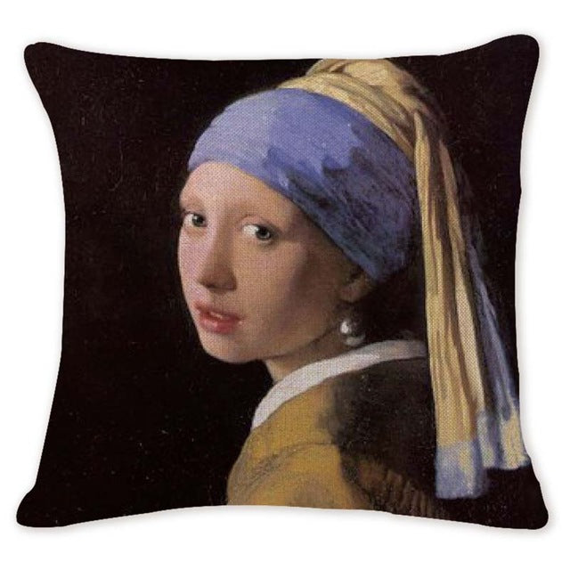 High Quality Cushion/Throw-pillow Covers of Famous Paintings - Art Store