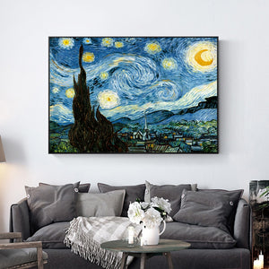 "Van Gogh ""The Starry Night"" Wall Art - Art Store"